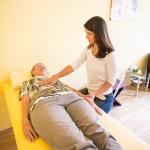 Abfragen der einzelnen Themen über Muskelbiofeedback